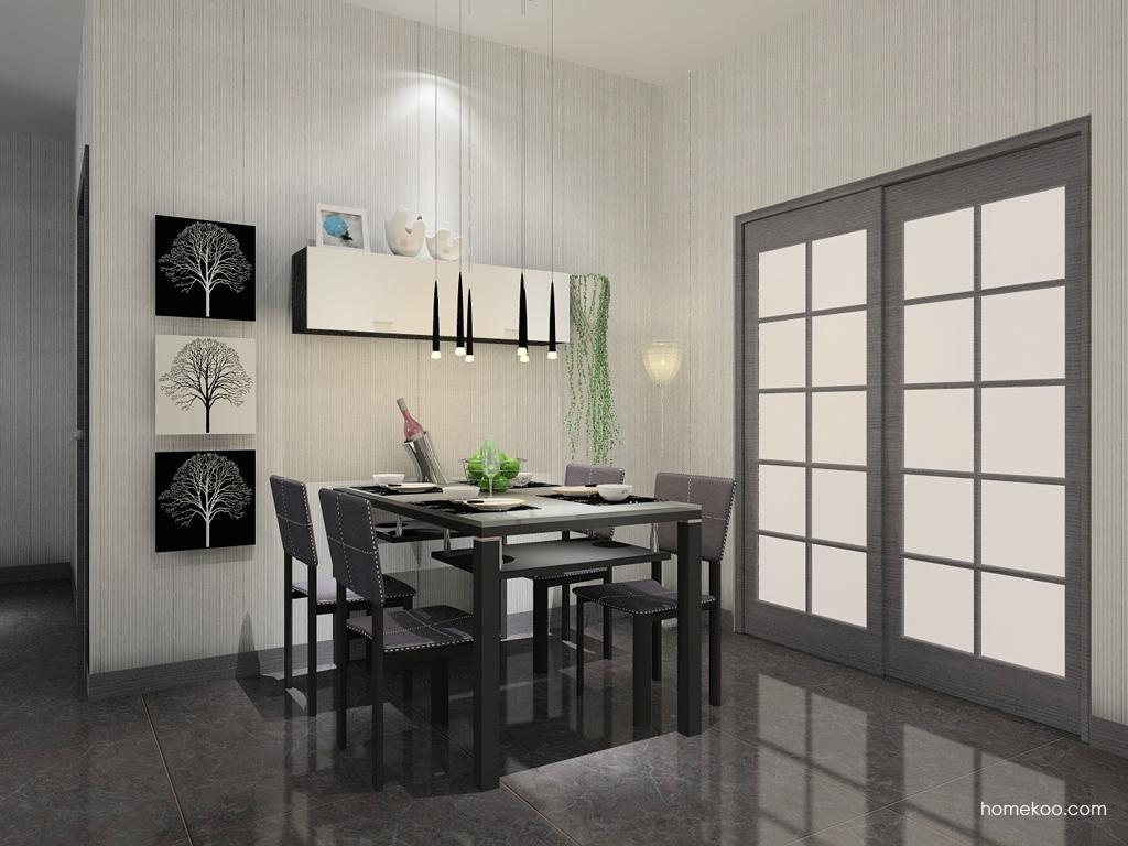简约主义餐厅家具E7707