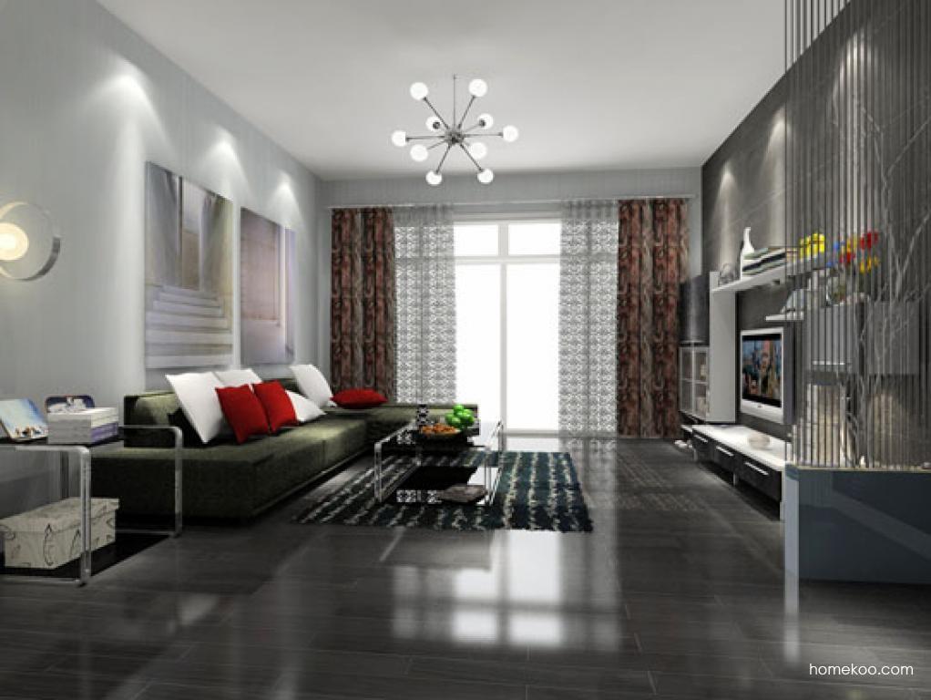 简约主义客厅家具D7721