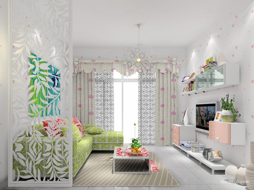浪漫主义客厅家具D7723