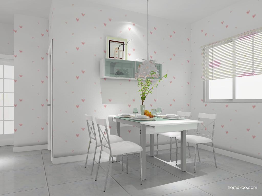 浪漫主义餐厅家具E7723