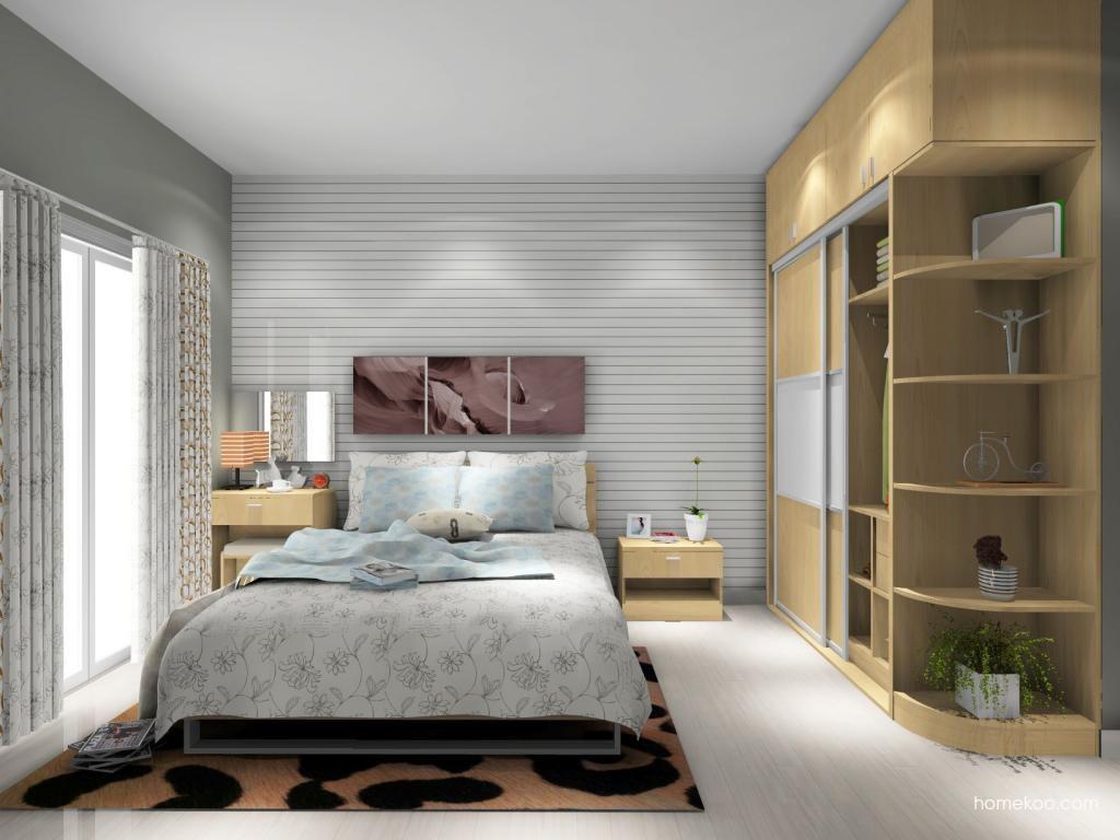 新实用主义卧房家具A8389