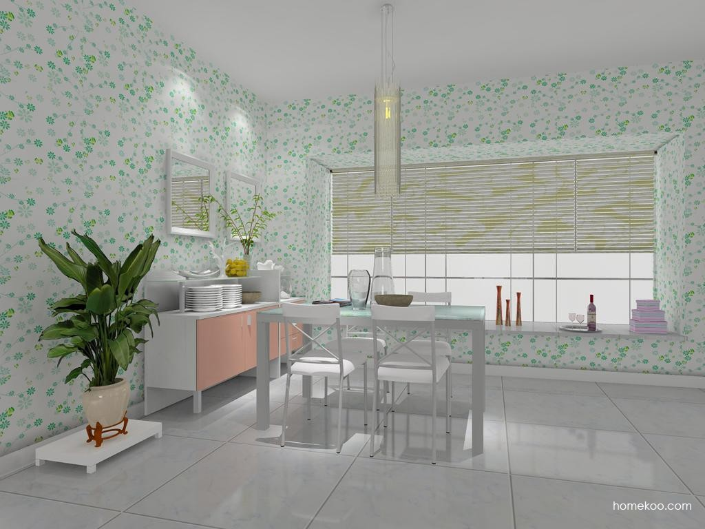 浪漫主义餐厅家具E7736