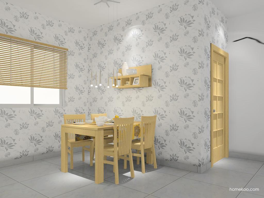 丹麦本色餐厅家具E7747