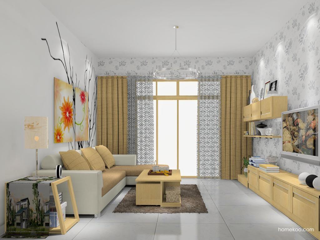 丹麦本色客厅家具D7747