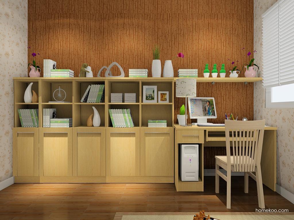 丹麦本色书房家具C7985