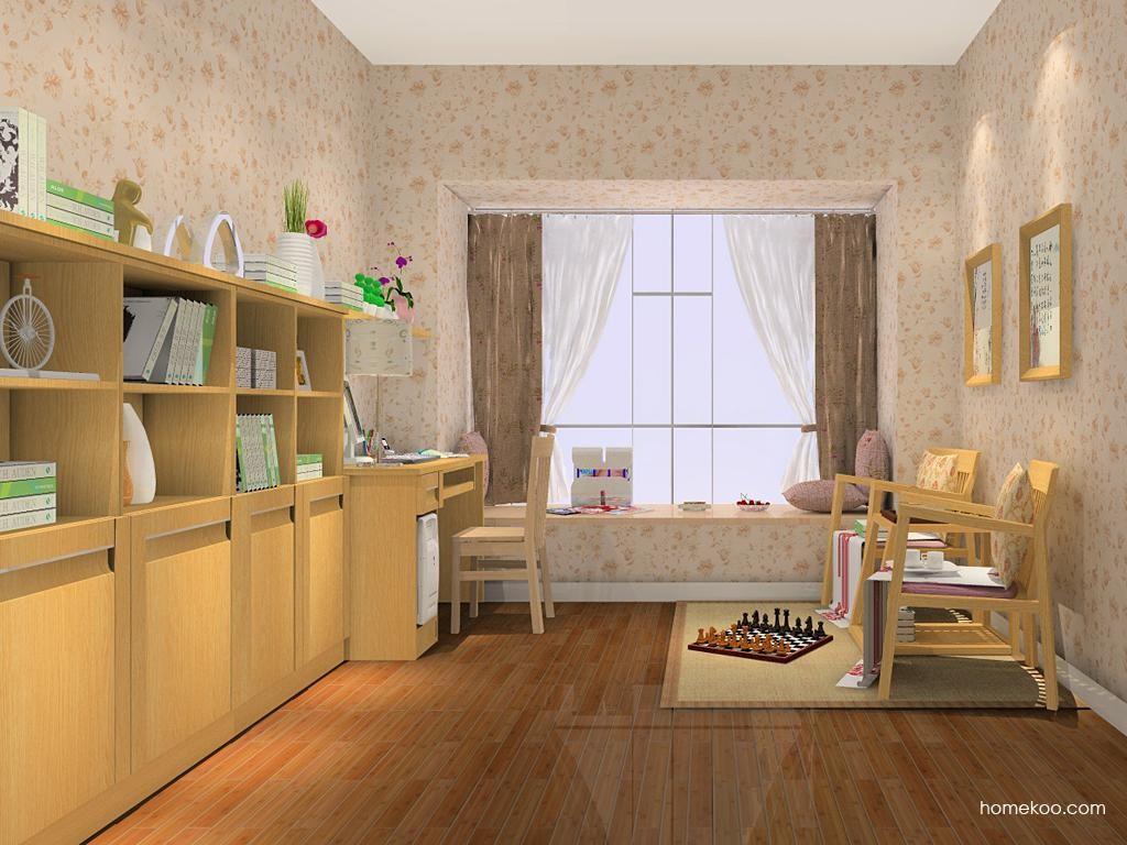 丹麦本色书房家具C7991