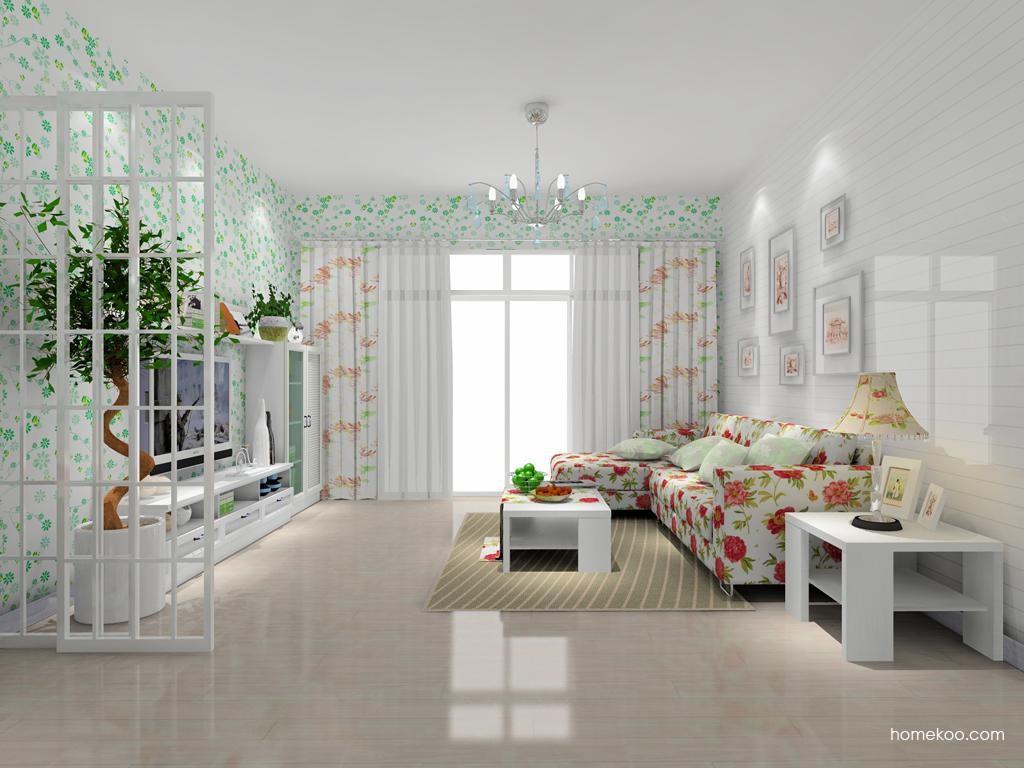 韩式田园客厅家具D7770