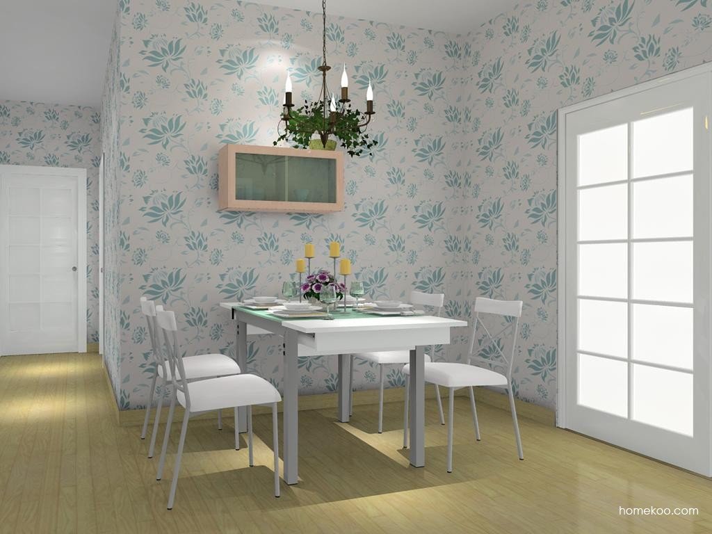 北欧阳光餐厅家具E7772