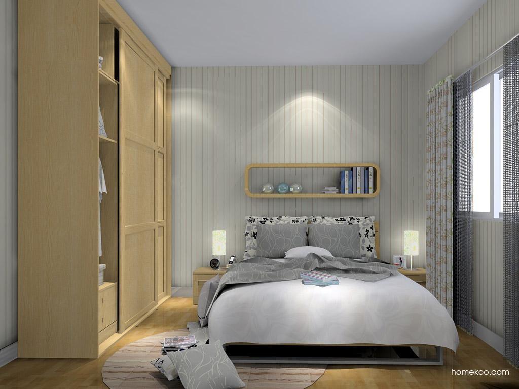 丹麦本色卧房家具A8405
