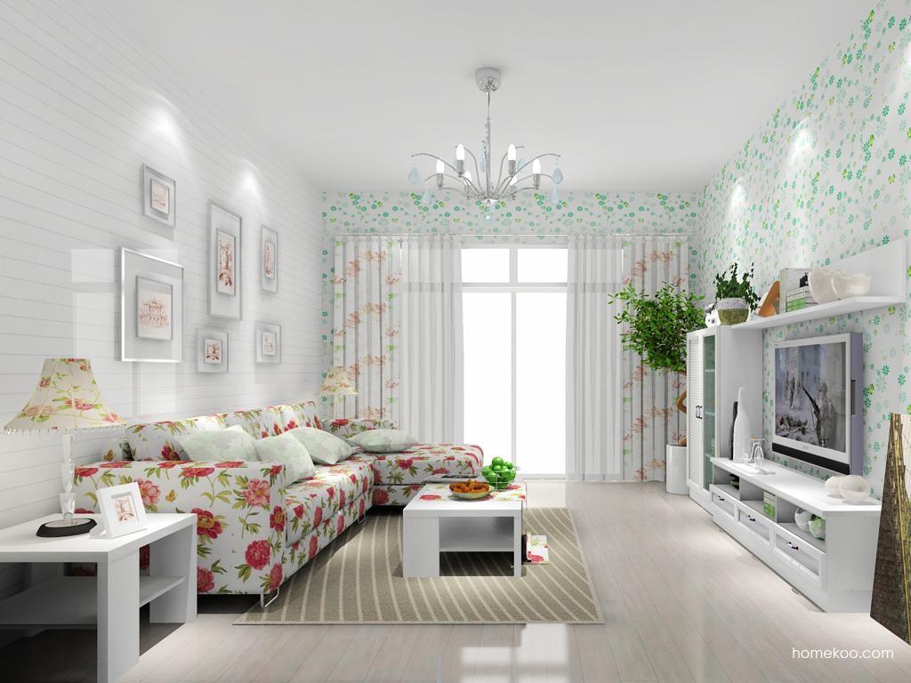 韩式田园客厅家具D7782
