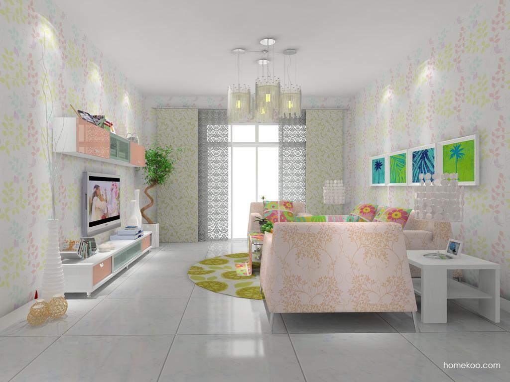 浪漫主义客厅家具D7783