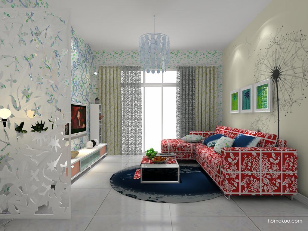 浪漫主义客厅家具D7786