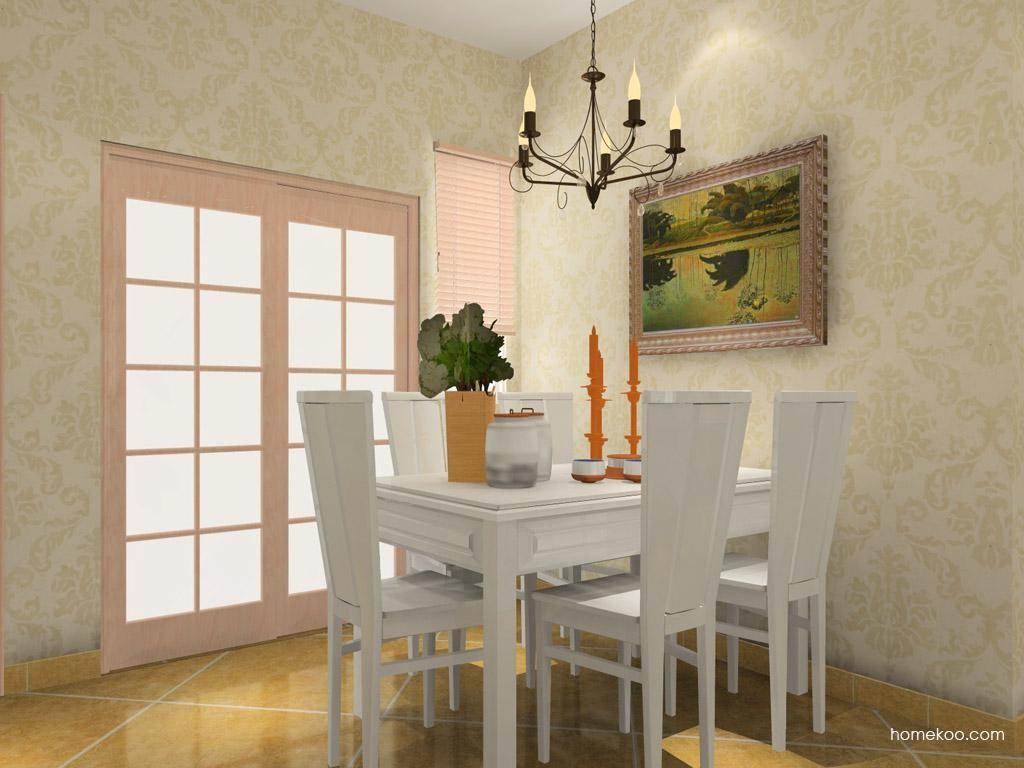 北欧阳光餐厅家具E7790