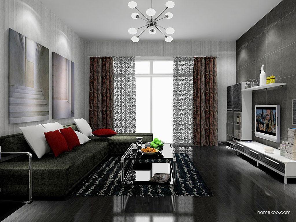 简约主义客厅家具D7791