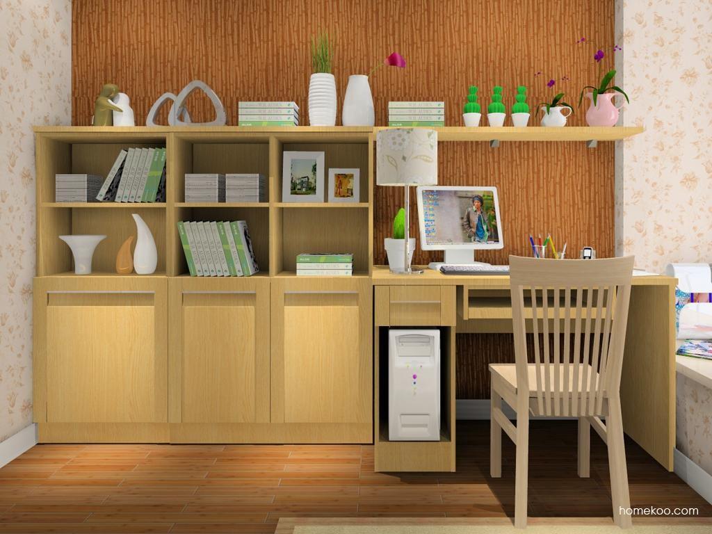 丹麦本色书房家具C8022