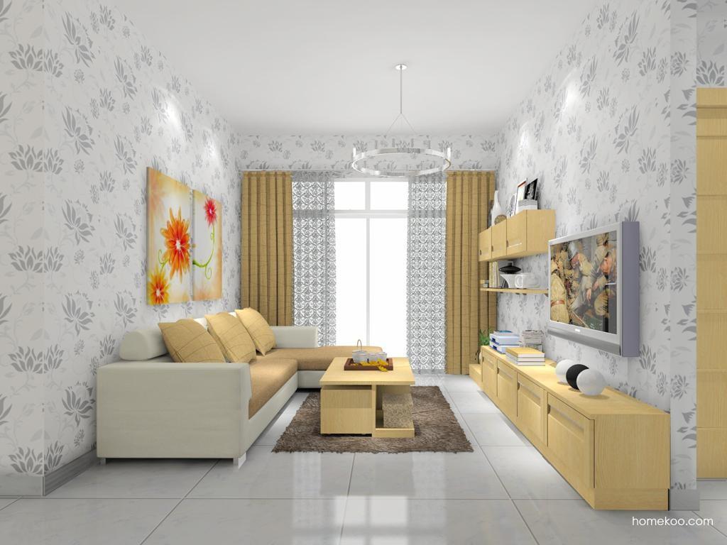 丹麦本色客厅家具D7793