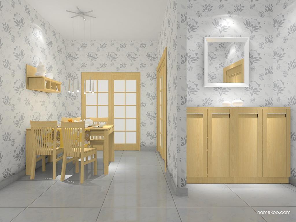 丹麦本色餐厅家具E7794