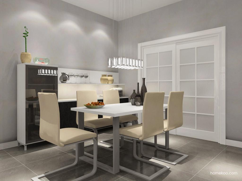 简约主义餐厅家具E7806