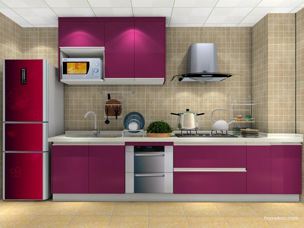 紫晶魅影橱柜F9236