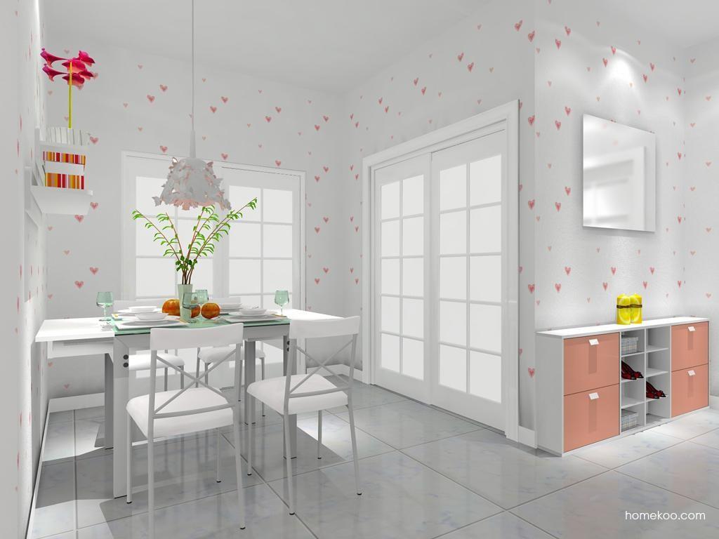 浪漫主义餐厅家具E7816