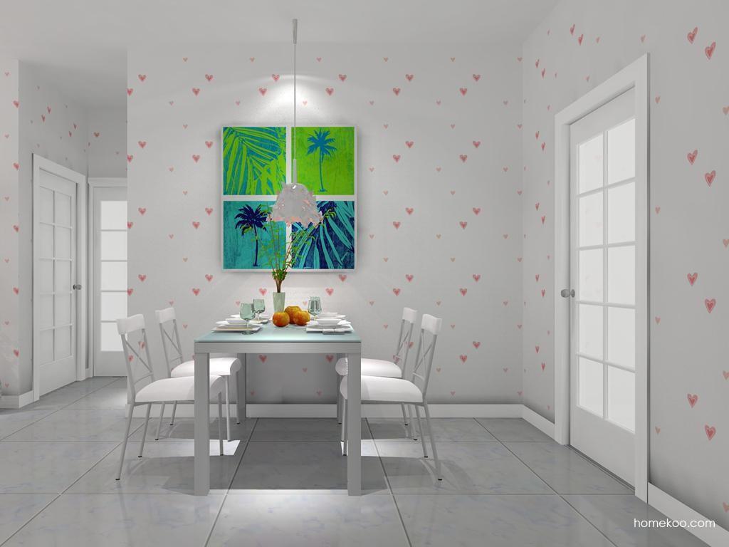 浪漫主义餐厅家具E7821