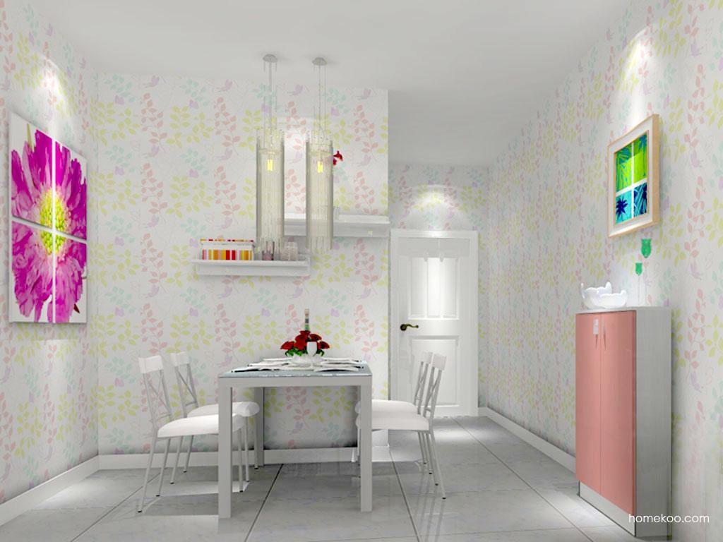 浪漫主义餐厅家具E7825