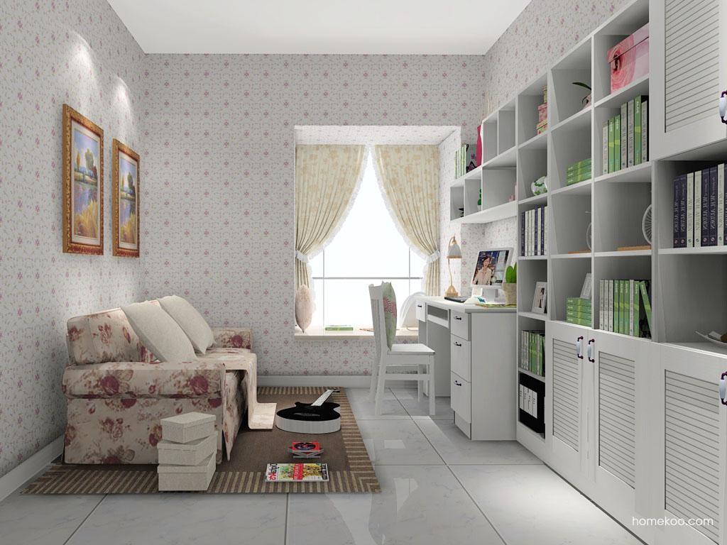 韩式田园书房家具C8029