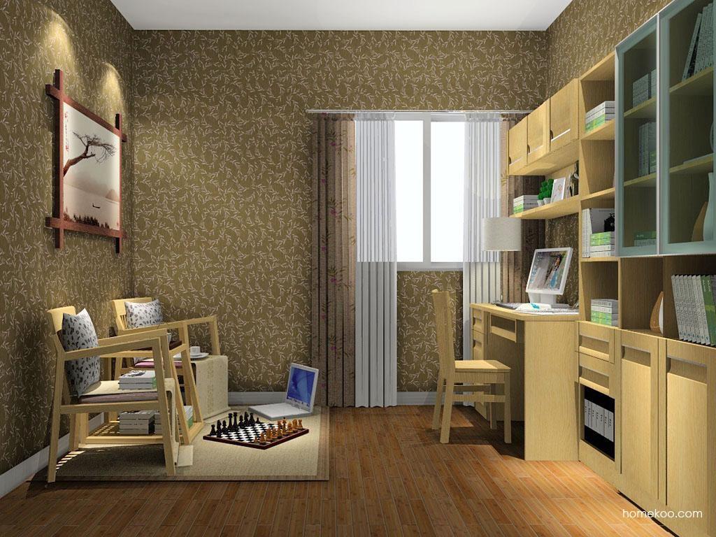 丹麦本色书房家具C8032