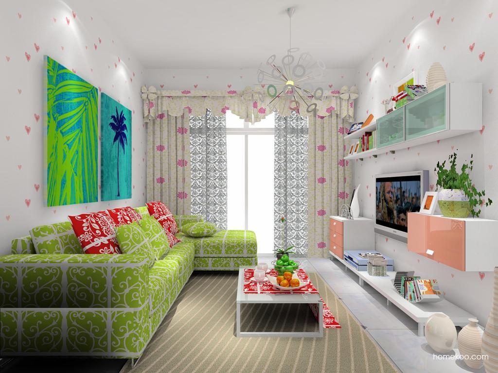 浪漫主义客厅家具D7826