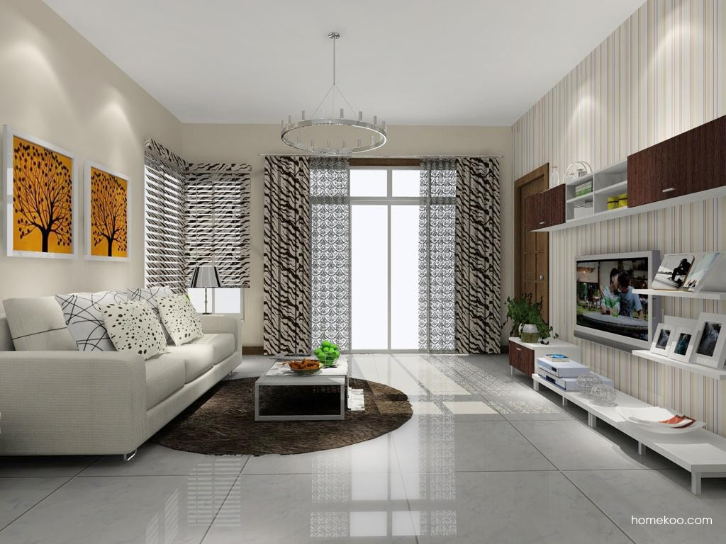 新实用主义客厅家具D7830