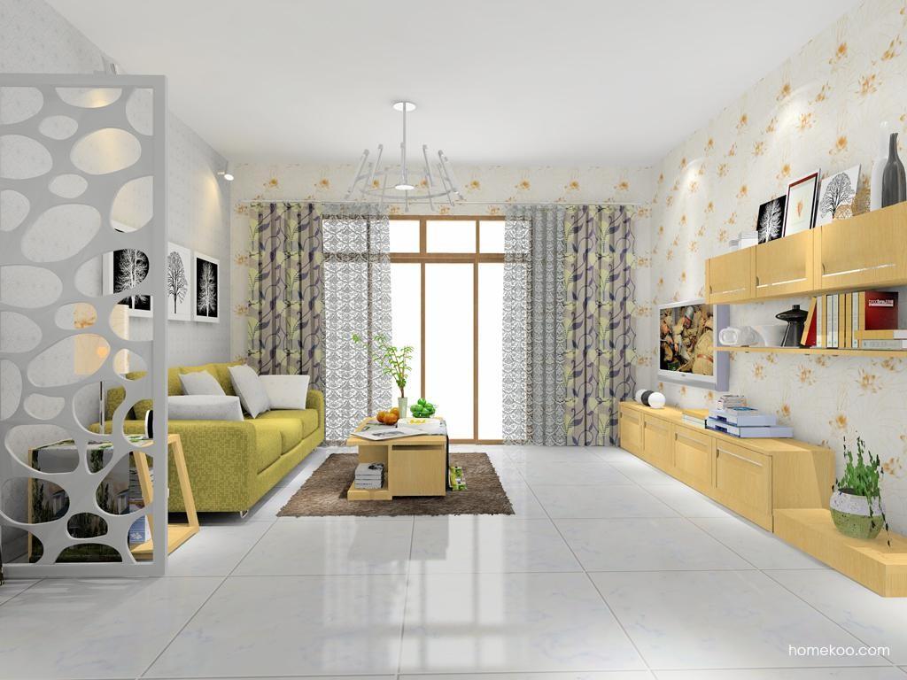 丹麦本色客厅家具D7844