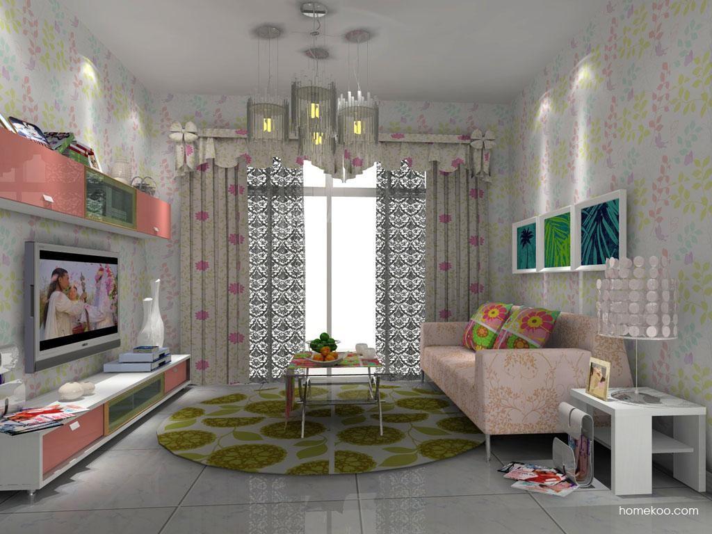 浪漫主义客厅家具D7853