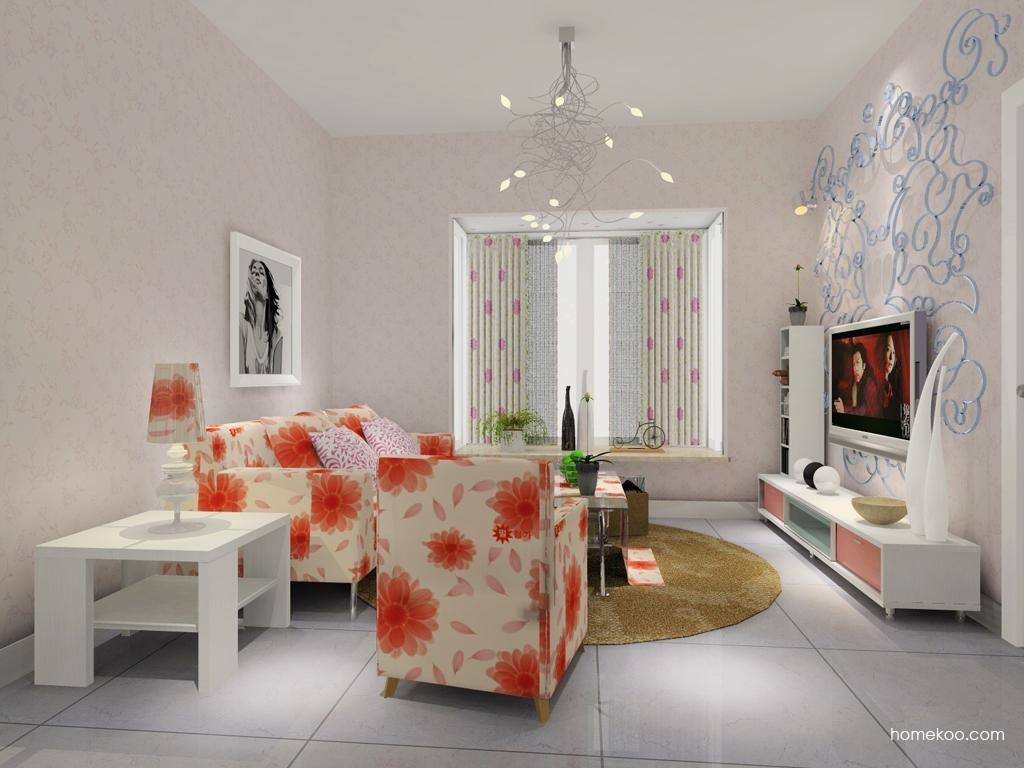 浪漫主义客厅家具D7859