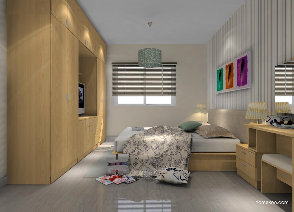 新实用主义卧房家具A8467