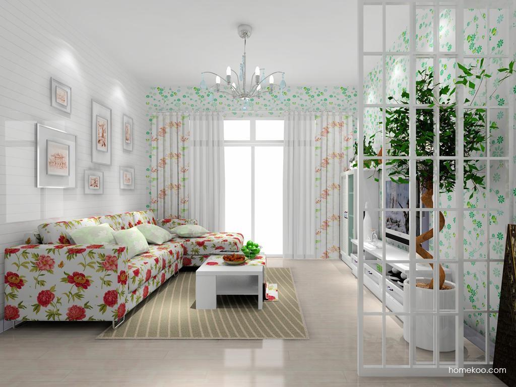 韩式田园客厅家具D7867