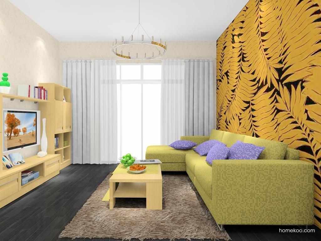丹麦本色客厅家具D7875