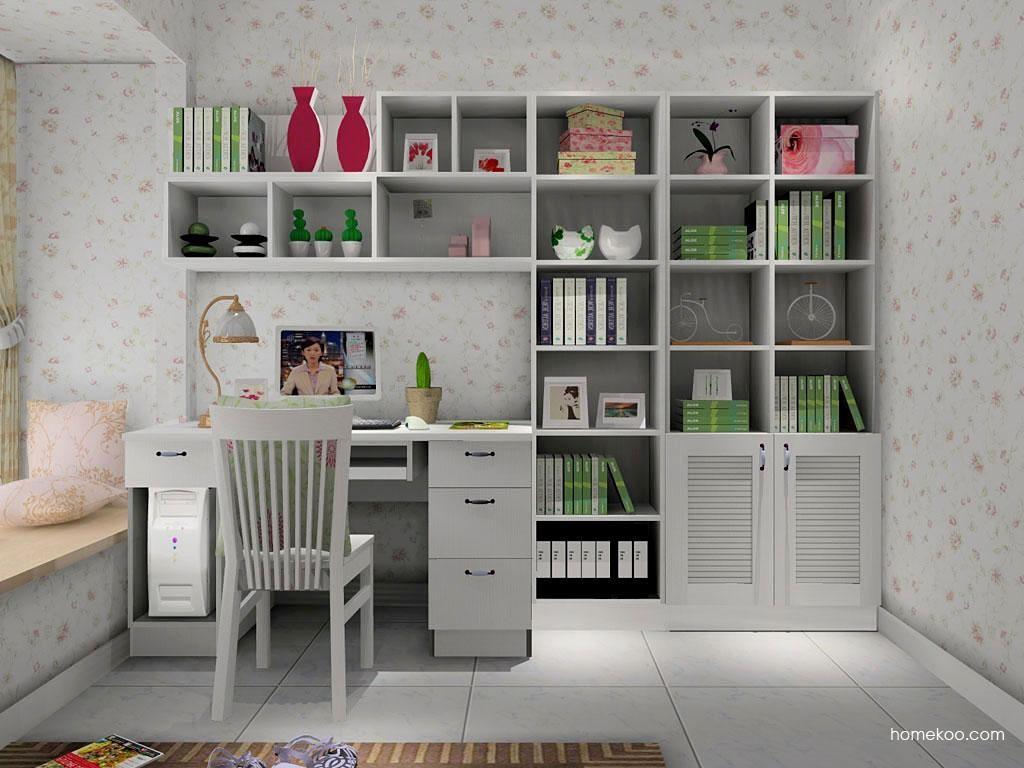 韩式田园书房家具C8054
