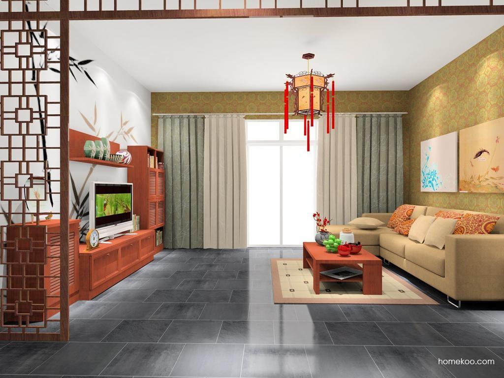 新中式主义客厅家具D7888