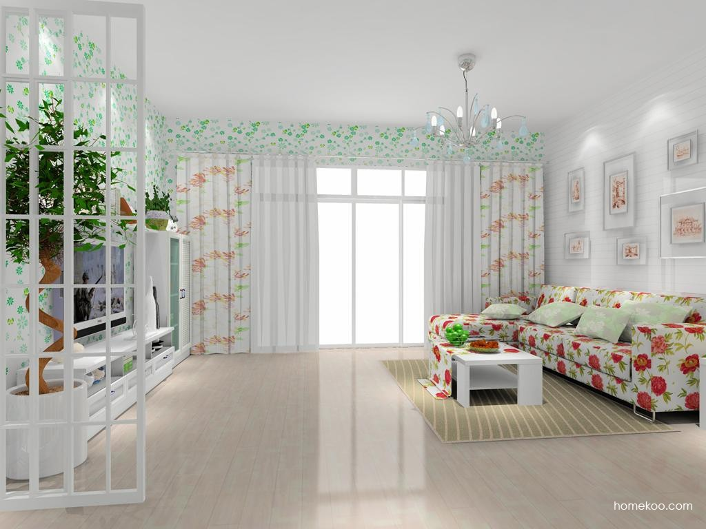 韩式田园客厅家具D7892