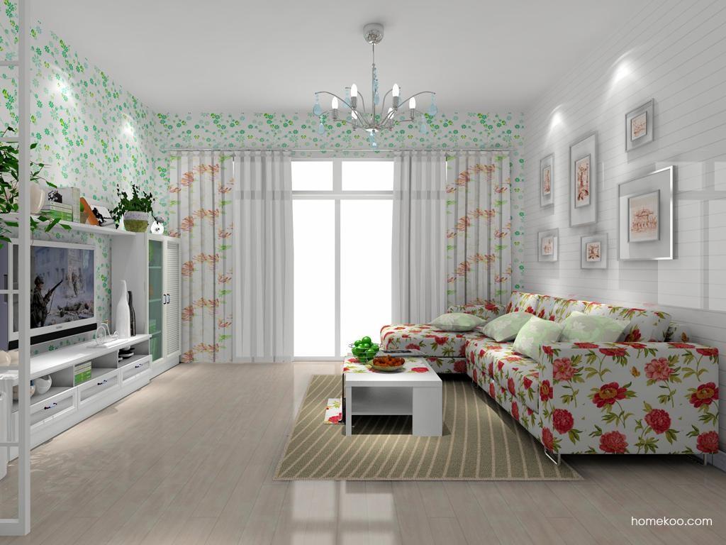 韩式田园客厅家具D7904