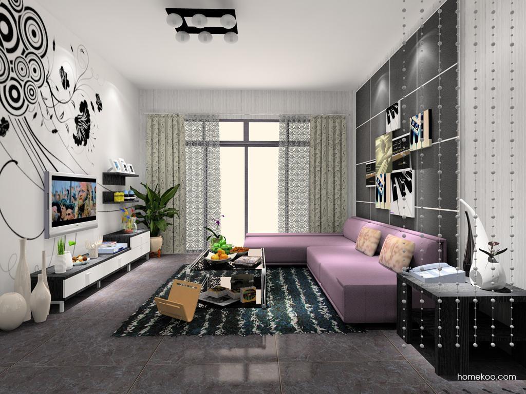 简约主义客厅家具D7905
