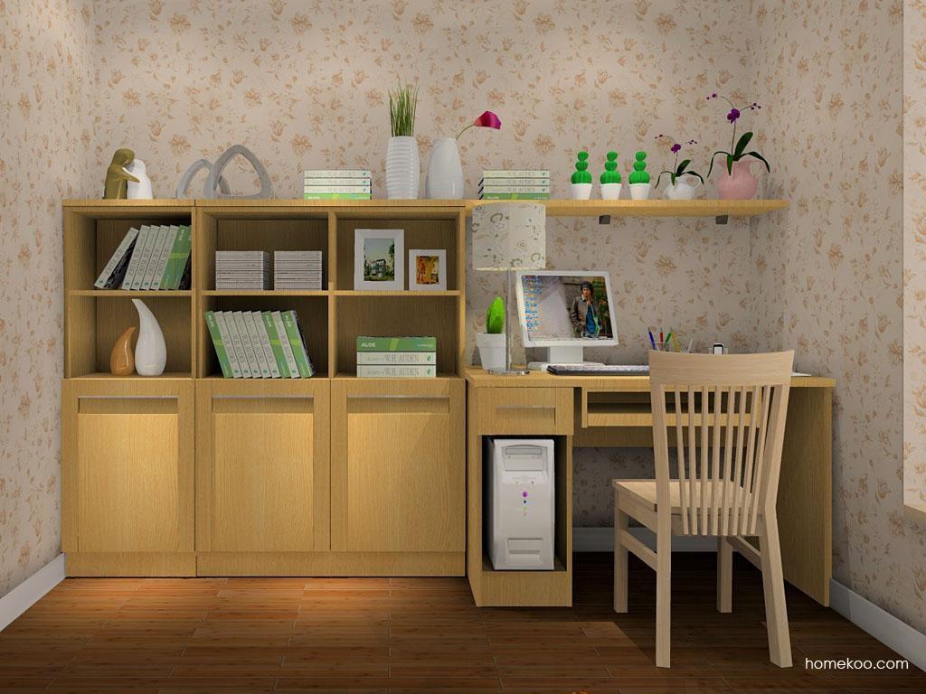 丹麦本色书房家具C8058
