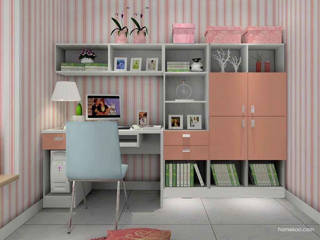 浪漫主义书房家具C8059