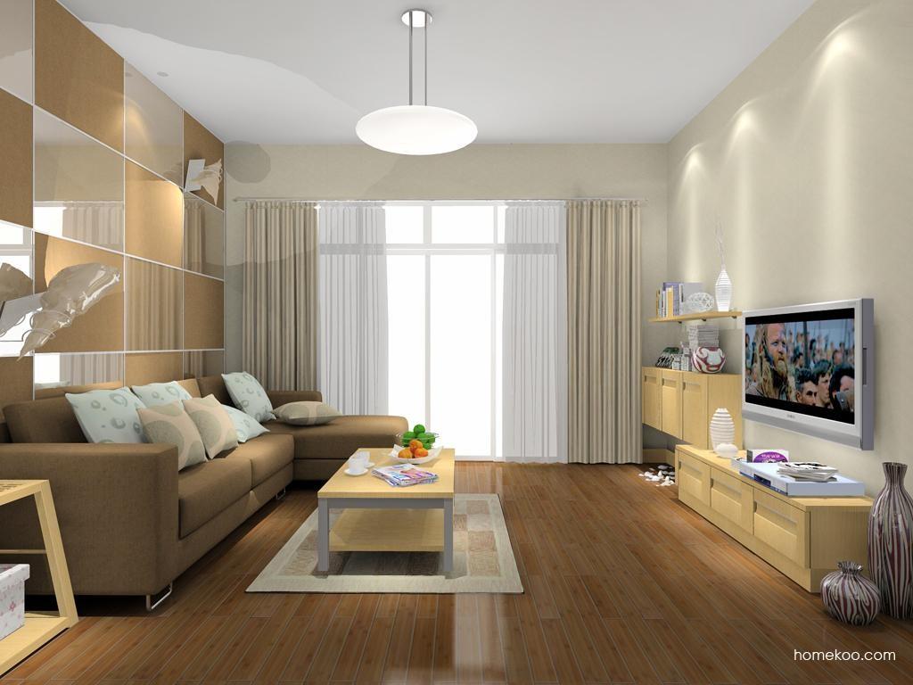 丹麦本色客厅家具D7918