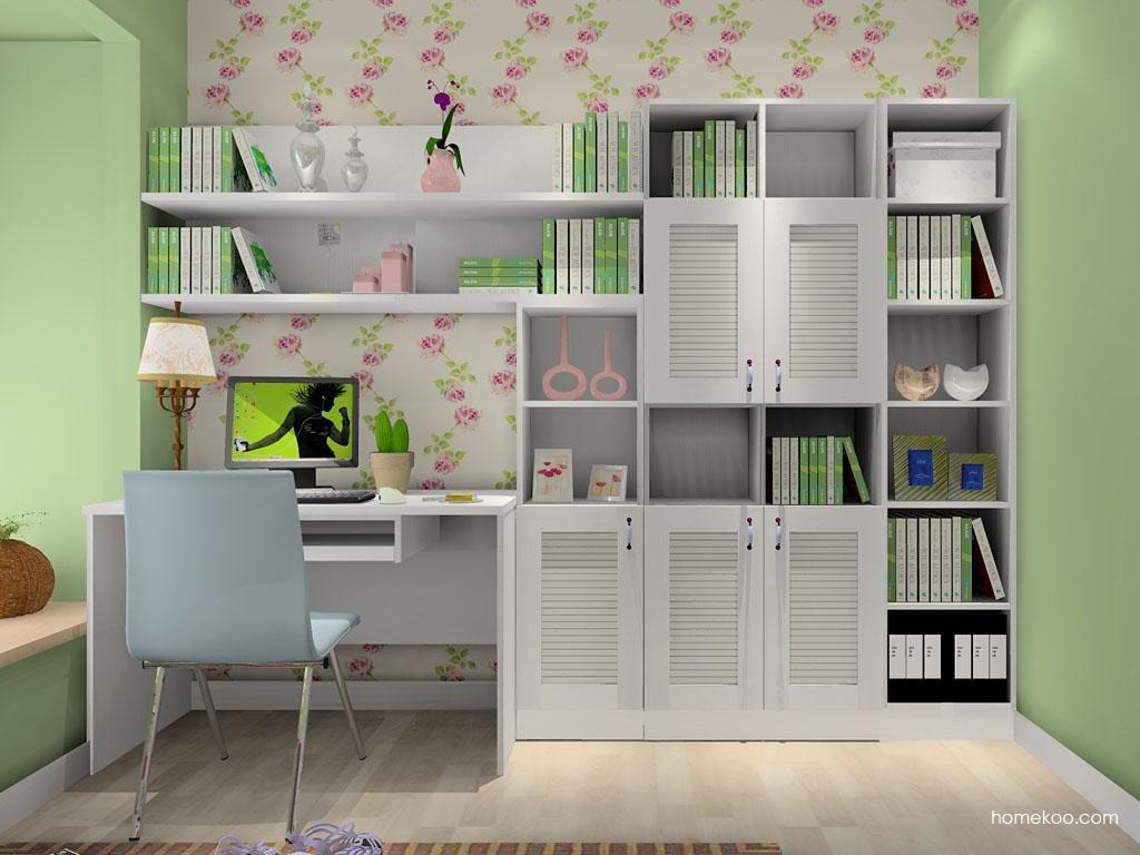 韩式田园书房家具C8065