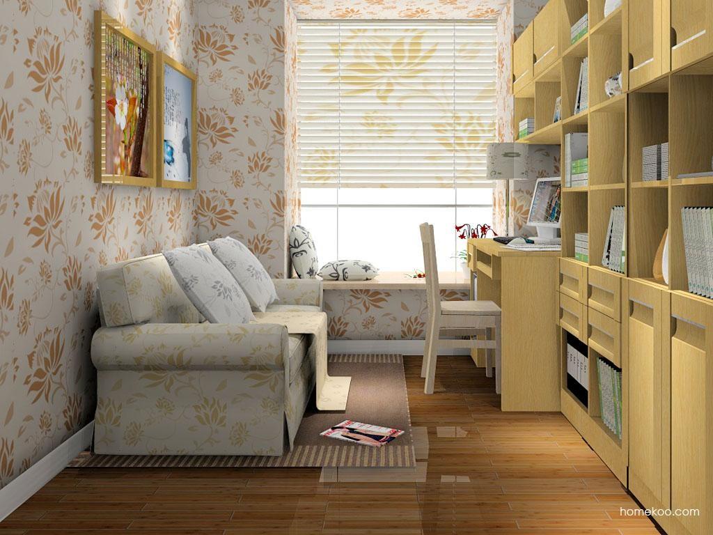 丹麦本色书房家具C8068