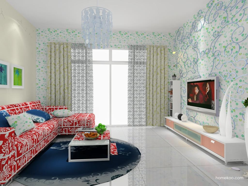 浪漫主义客厅家具D7919