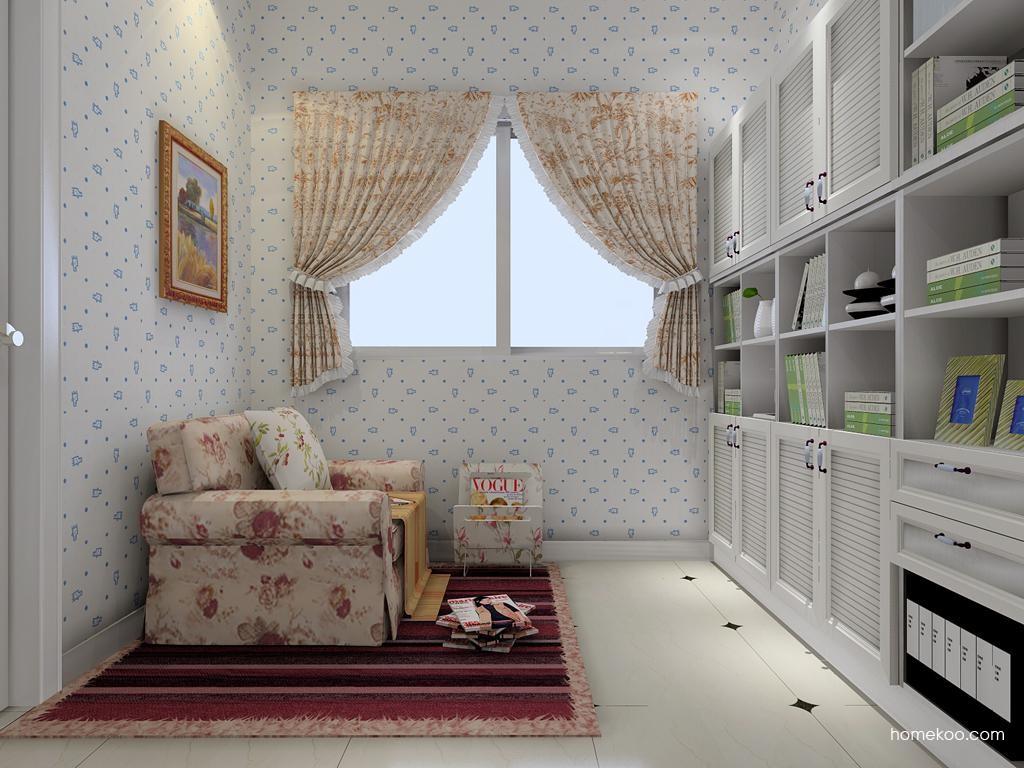 韩式田园书房家具C8073