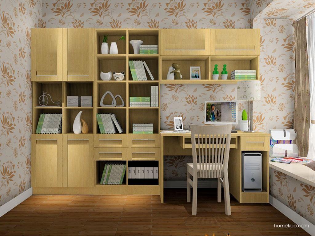 丹麦本色书房家具C8074