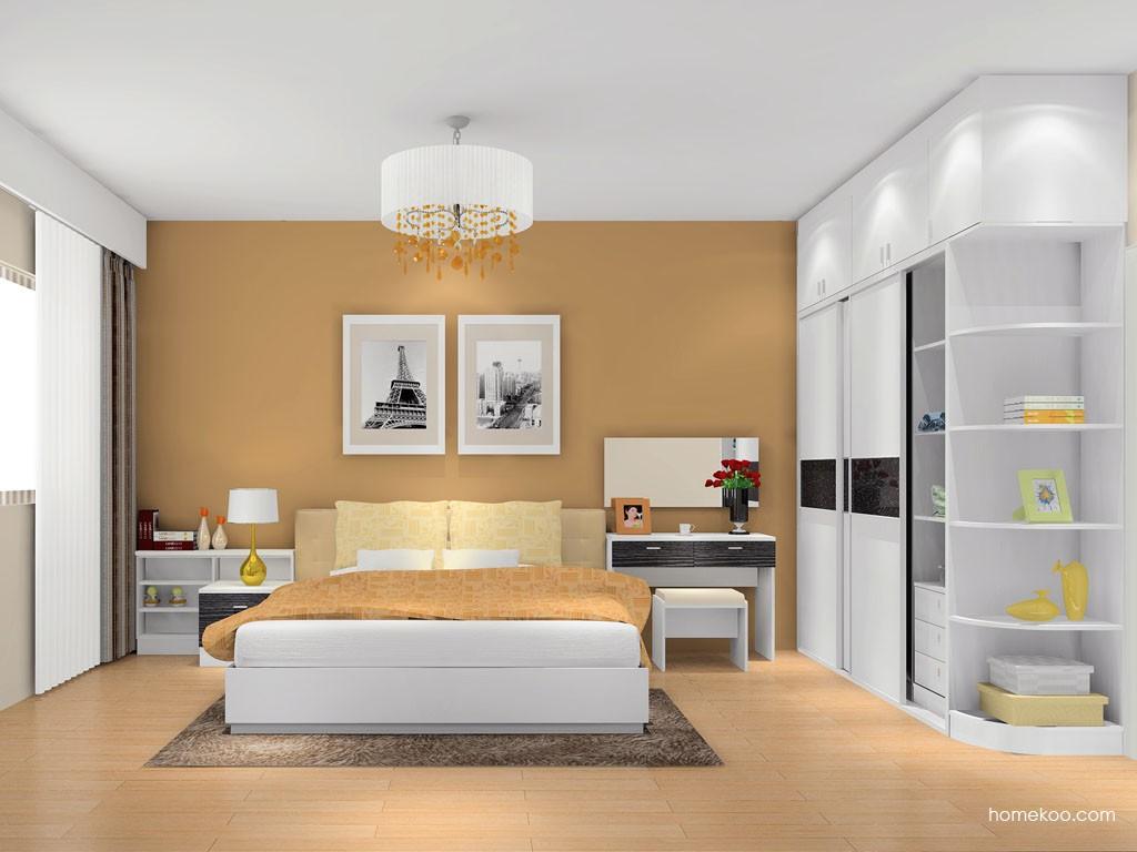 简约主义卧房家具A8552